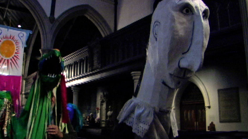 Puppets at Emmanuel Church