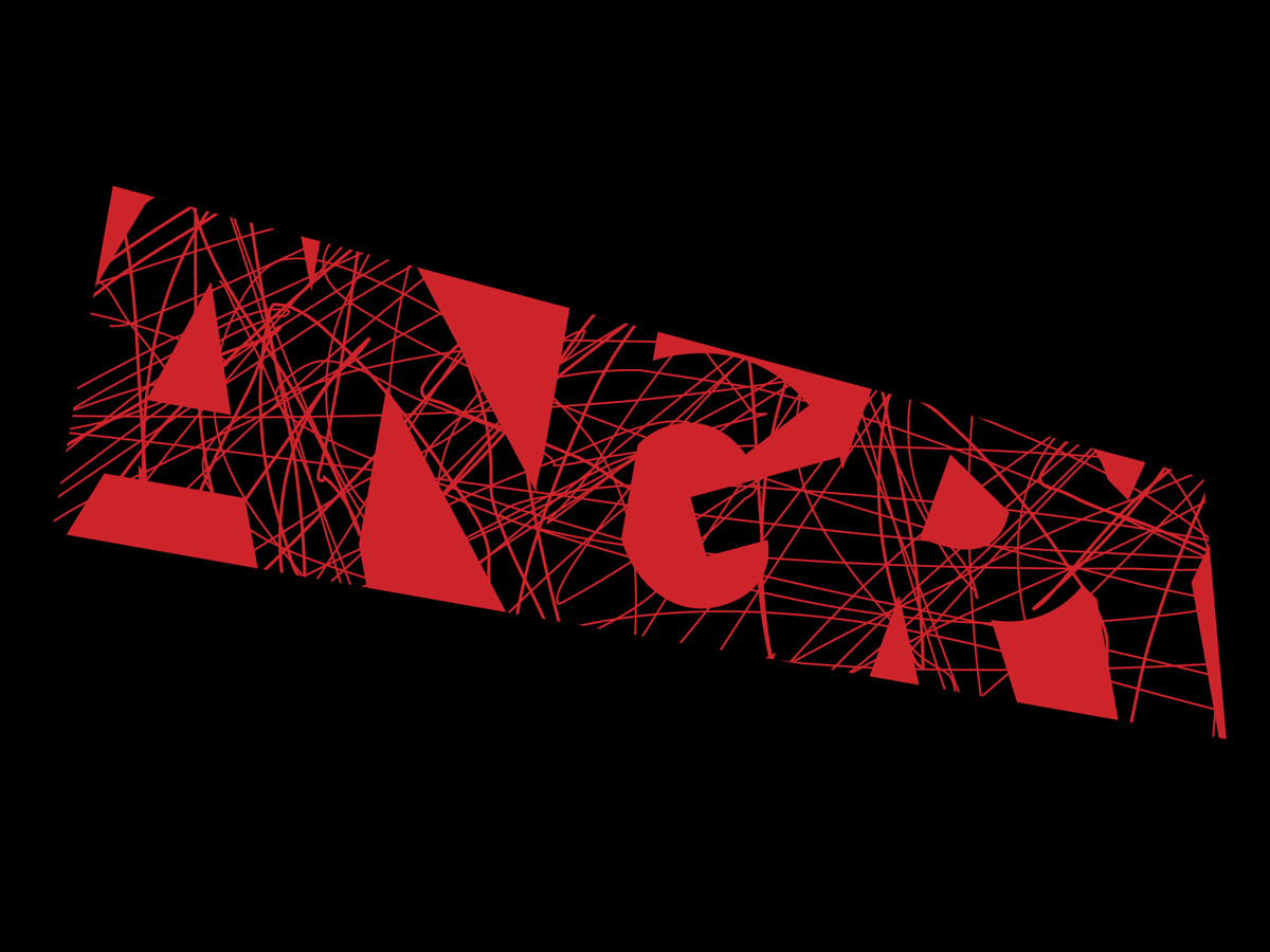 Expressive Type - Angry