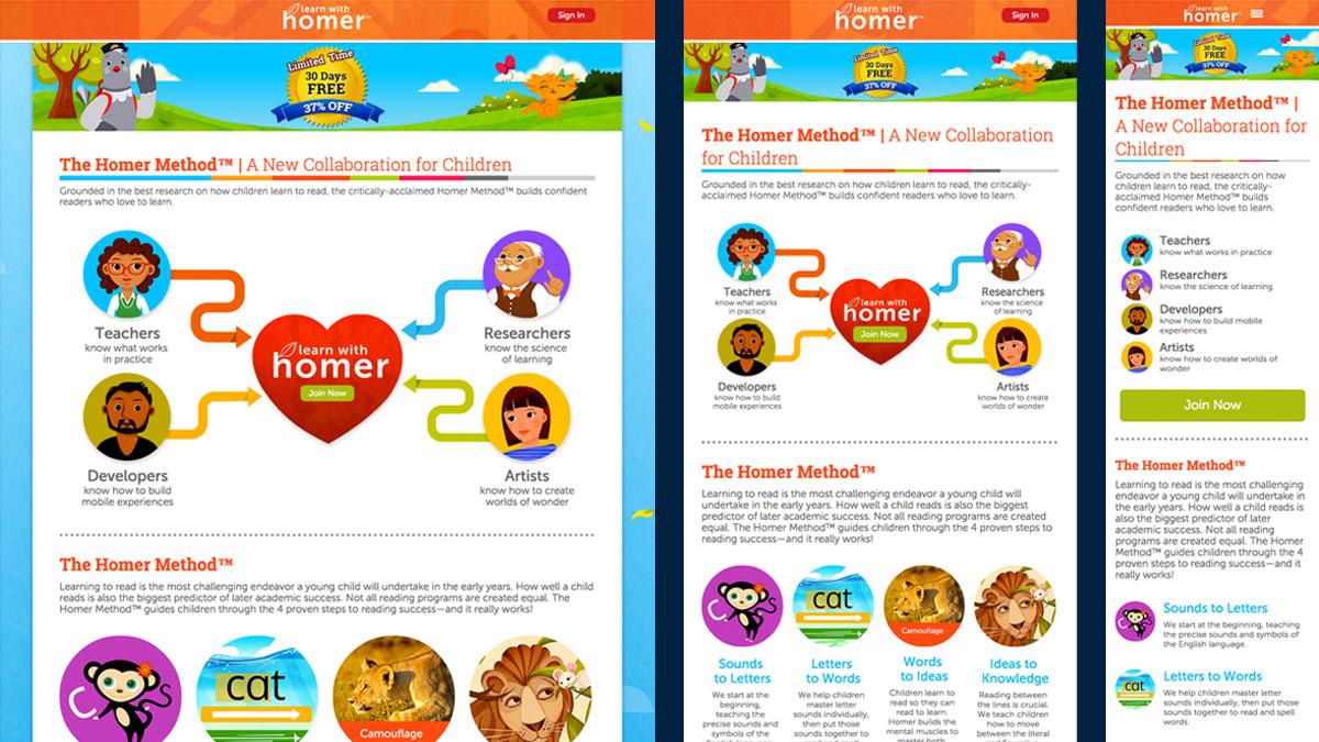 The Homer Method Webpage