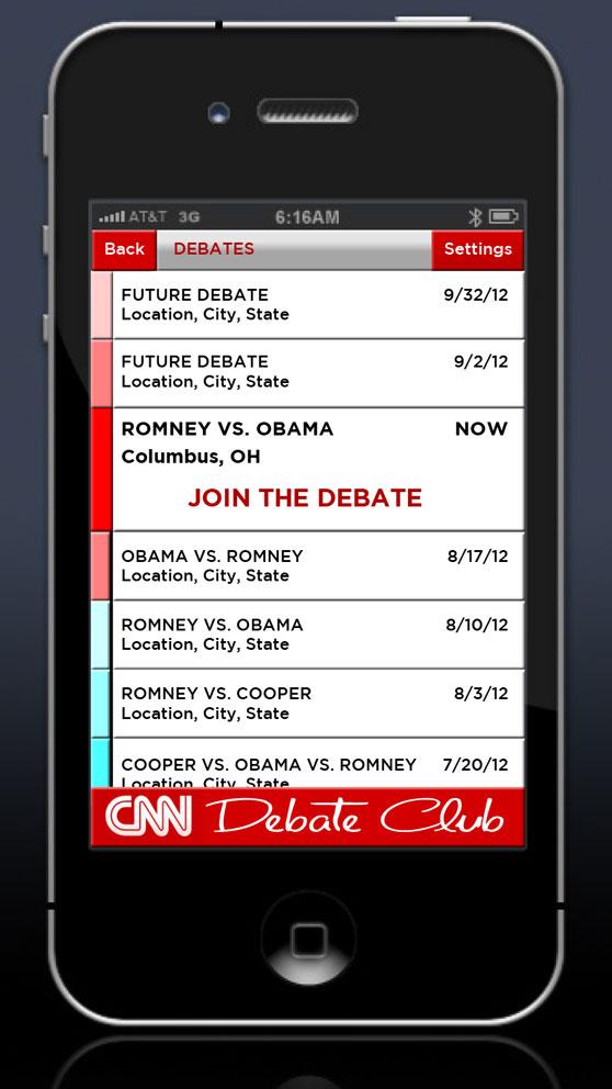 Debate List