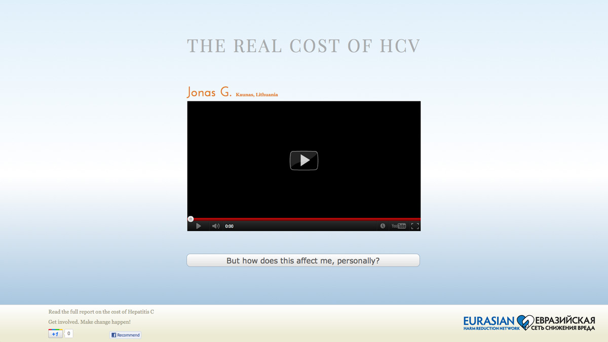 YouTube videos in The Real Cost of HCV