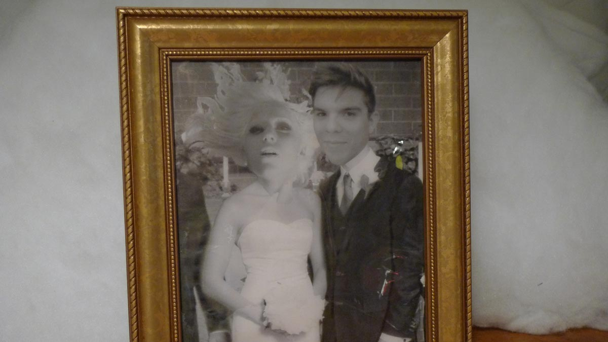 A close look at Lady Gaga and Alvaro in the Tweet Stalker.