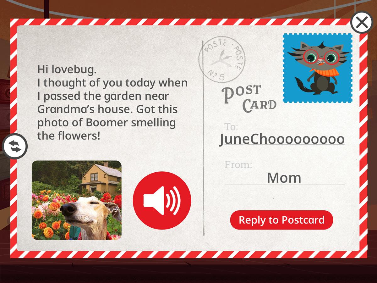 Original Postcard Design