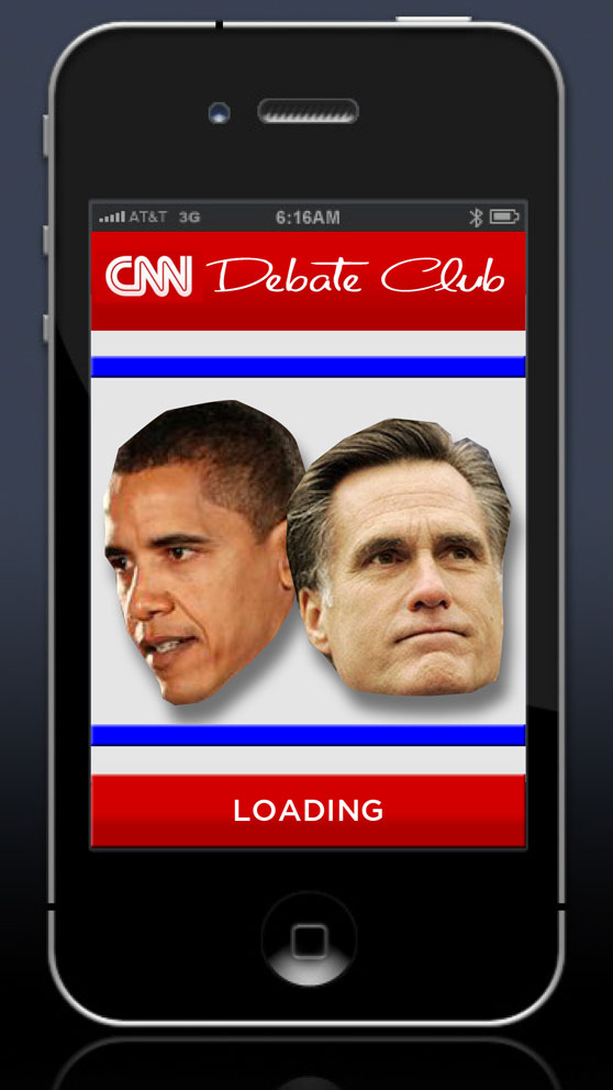 Debate Club loading screen